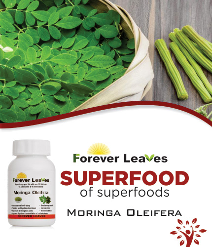 Forever Leaves Organic Moringa Tablets
