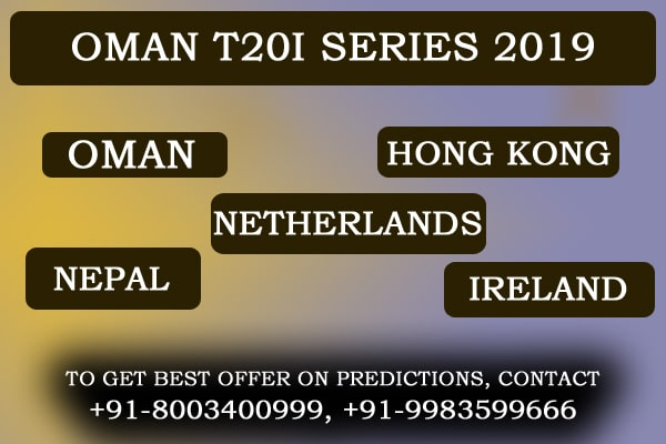 Oman T20 Series Predictions