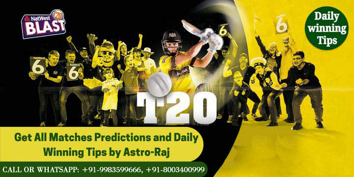 T20 Blast Predictions